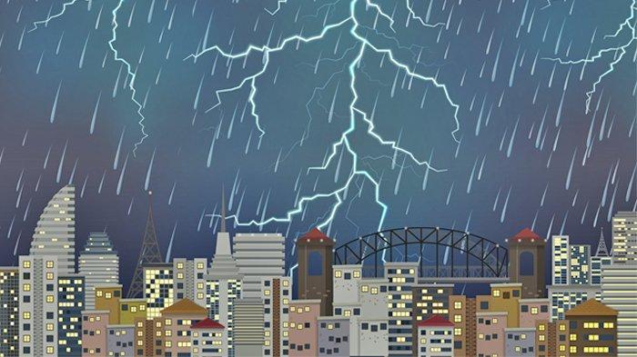 Waspada Cuaca Ekstrem 26 Wilayah di Indonesia Peringatan Dini Besok Jumat 9 April 2021
